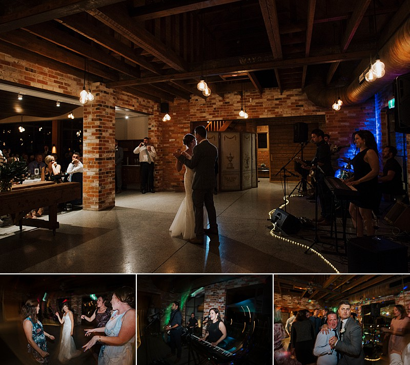 Coombe Estate Wedding couple dancing