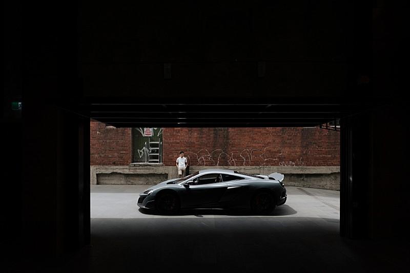 Mc Laren racing car
