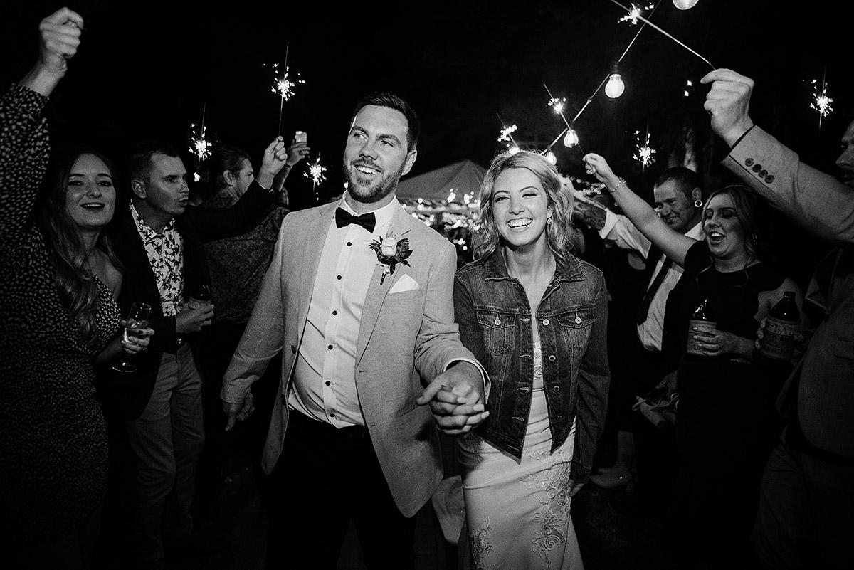 Baxter Barn Wedding Sparklers barn wedding happy bride